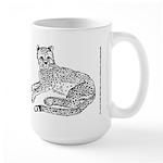 Cheetah Cub Large Mug