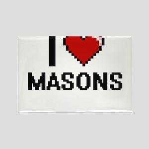I love Masons Magnets