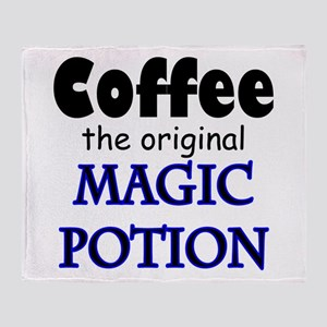 Coffee Magic Throw Blanket
