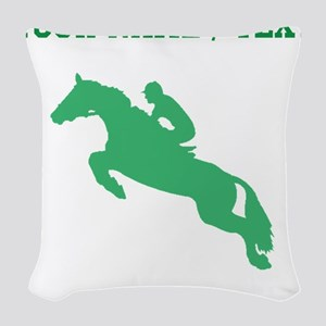 Green Equestrian Horse Silhouette (Custom) Woven T