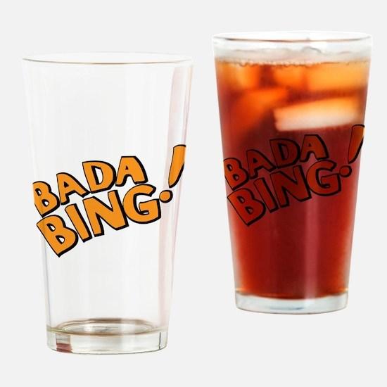The Sopranos: Badda Bing Drinking Glass
