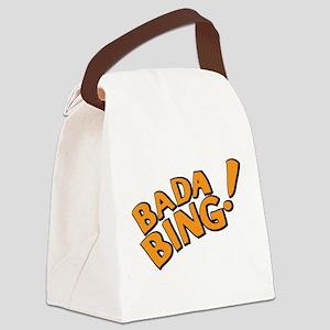 The Sopranos: Badda Bing Canvas Lunch Bag