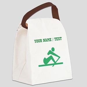 Green Crew (Custom) Canvas Lunch Bag