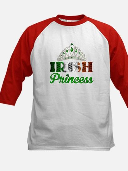 Irish Princess Kids Baseball Jersey