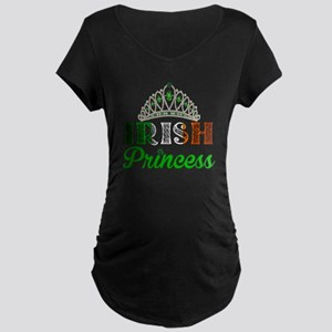 Irish Princess Maternity Dark T-Shirt