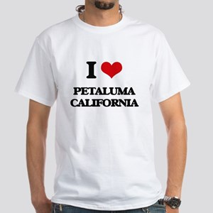 I love Petaluma California T-Shirt