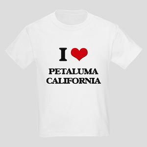 I love Petaluma California T-Shirt