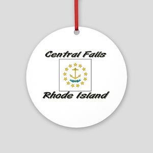 Central Falls Rhode Island Ornament (Round)