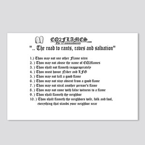 Kviller's 10 Commandments Postcards (Package of 8)