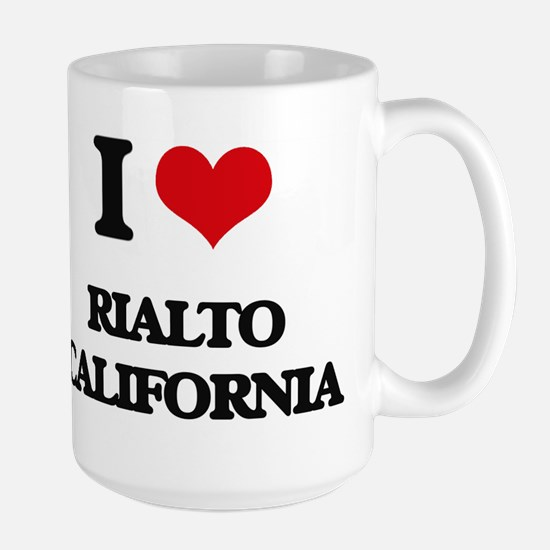 I love Rialto California Mugs