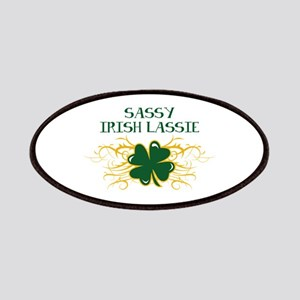 IRISH LASSIE APPLIQUE Patch