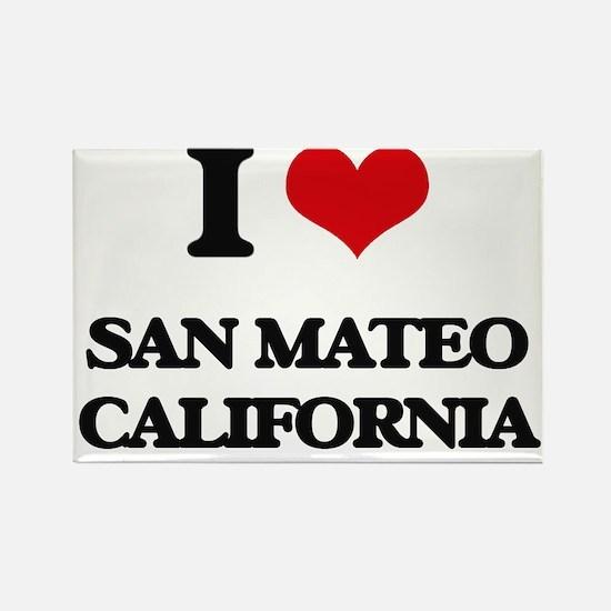 I love San Mateo California Magnets