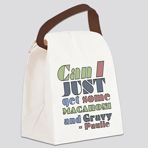 The Sopranos Macaroni and Gravy Canvas Lunch Bag