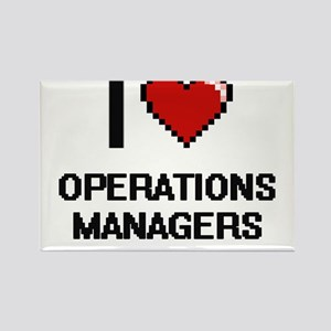 I love Operations Managers Magnets