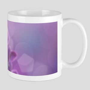 Purple Frosted Flowers Mugs