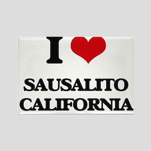 I love Sausalito California Magnets