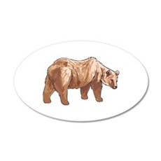 GRIZZLY BEAR Wall Decal