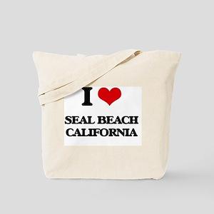 I love Seal Beach California Tote Bag