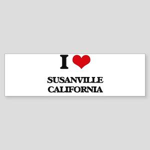 I love Susanville California Bumper Sticker