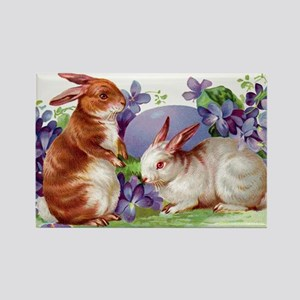 Vintage Easter Collection Rectangle Magnet