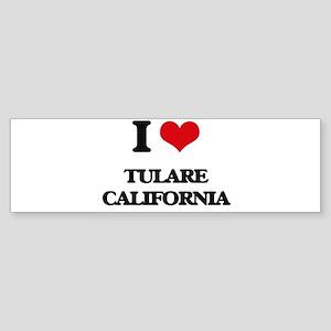 I love Tulare California Bumper Sticker