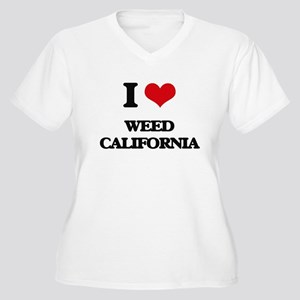 I love Weed California Plus Size T-Shirt