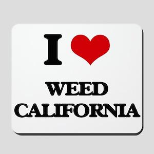 I love Weed California Mousepad