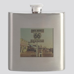 Route 66 End of Trail Flask