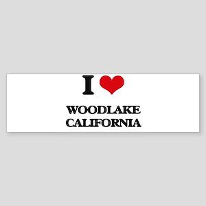 I love Woodlake California Bumper Sticker