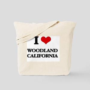 I love Woodland California Tote Bag