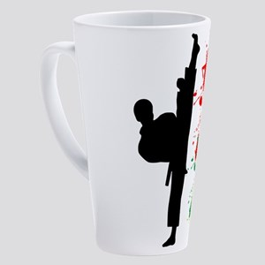 Black Belt 17 oz Latte Mug