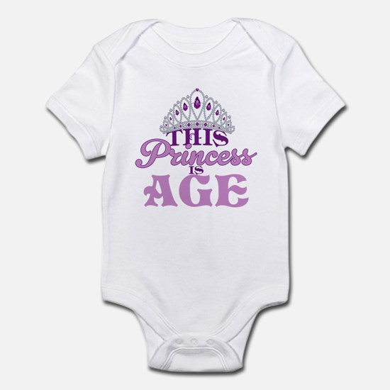 Birthday Princess Infant Bodysuit