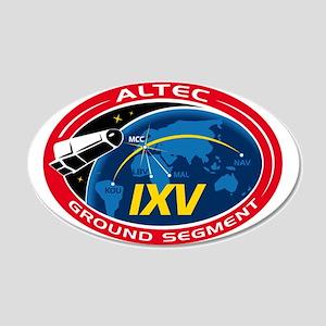 ALTEC's Ground Segment Logo 20x12 Oval Wall Decal