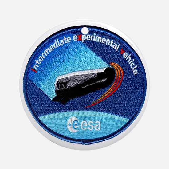 ESA's IXV Logo Ornament (Round)