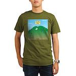 Butt MT Organic Men's T-Shirt (dark)