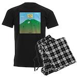 Butt MT Men's Dark Pajamas