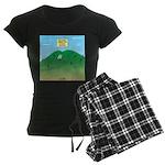 Butt MT Women's Dark Pajamas