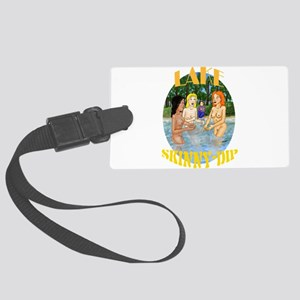 Lake Skinny Dip Luggage Tag