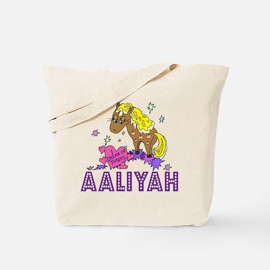 I Dream Of Ponies Aaliyah Tote Bag