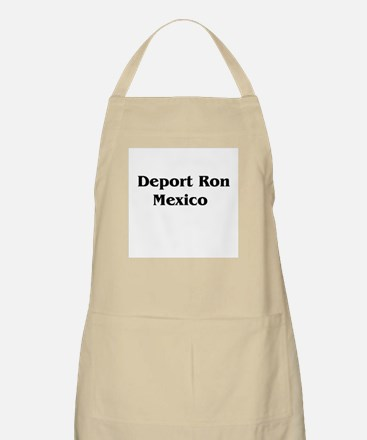 Deport Ron Mexico BBQ Apron