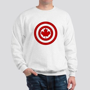 Captain Canada Shield Symbol Sweatshirt