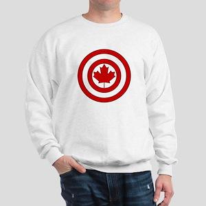 Captain Canada Shield Symbol Sweatshirt