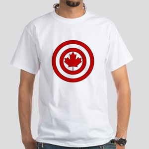 Captain Canada Shield Symbol T-Shirt