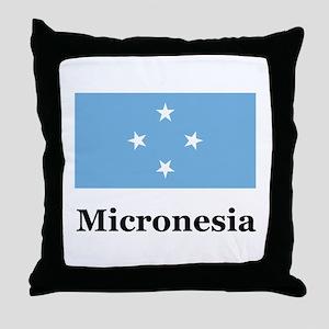 Micronesia Throw Pillow