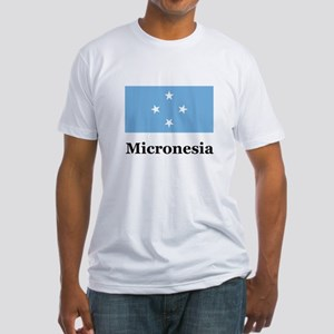 Micronesia Fitted T-Shirt