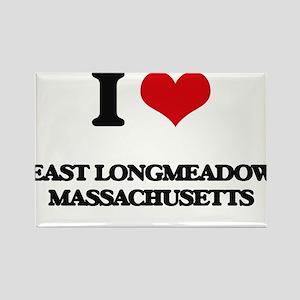 I love East Longmeadow Massachusetts Magnets
