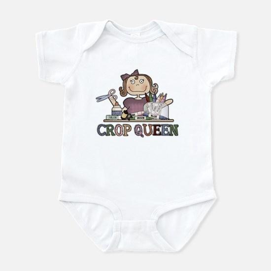 Crop Queen Infant Bodysuit