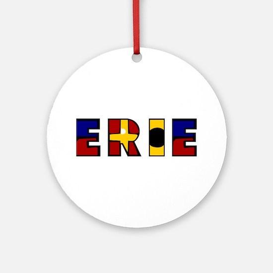 Erie Ornament (Round)
