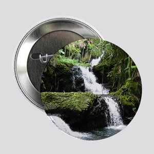 """Tropical Waterfall 2.25"""" Button"""