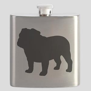 Bulldog Flask